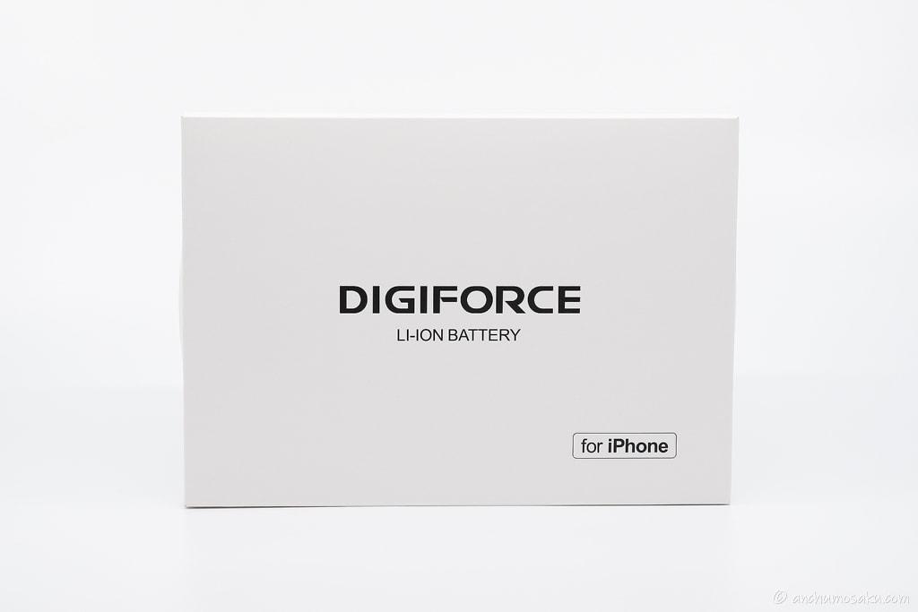 DIGIFORCE iPhone SE 互換バッテリー LPB-DIGISE パッケージ