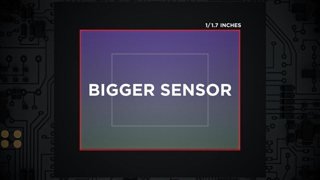 「DJI Pocket 2」で大きくなったイメージセンサー