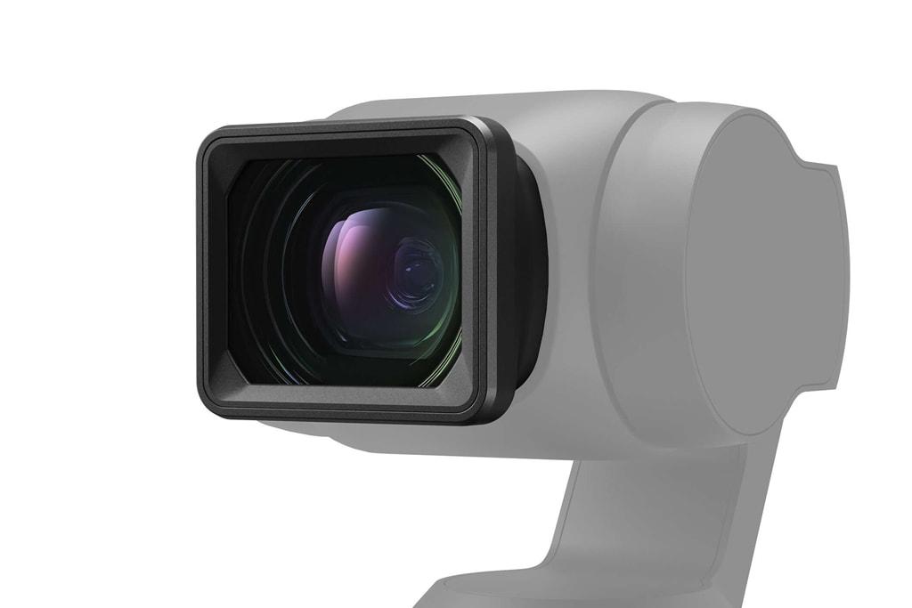 「DJI Pocket 2 広角レンズ」の装着イメージ