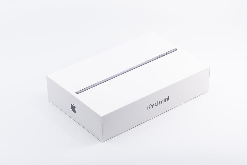 「iPad mini 5」パッケージ