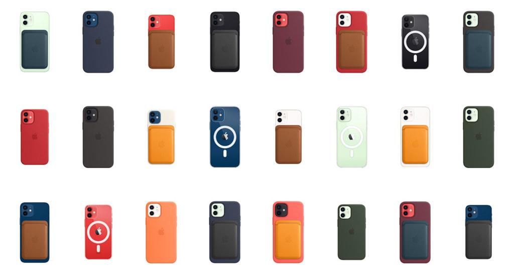 iPhone 12 と 12 mini の MagSafeアクセサリ組み合わせ