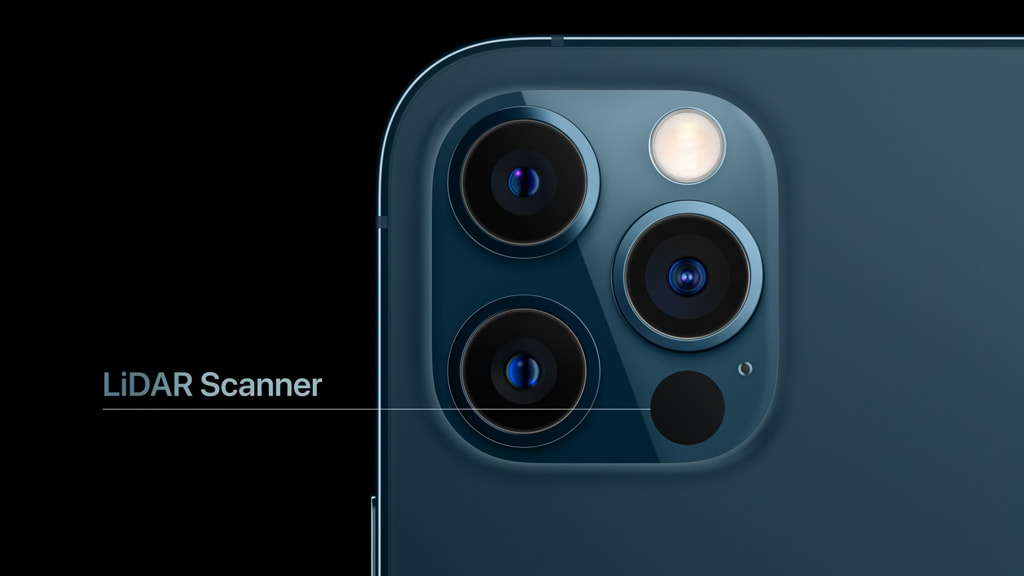 iPhone 12 Pro と 12 Pro Max の LiDAR Scanner